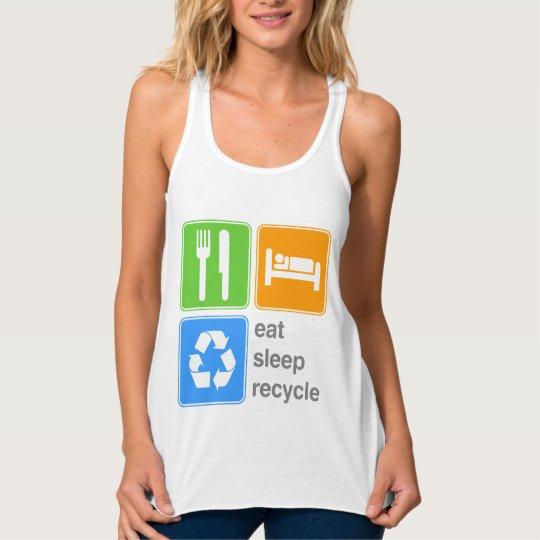 Eat Sleep Recycle Tank Top