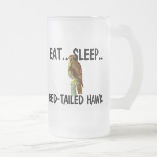 Eat Sleep RED-TAILED HAWKS Coffee Mug