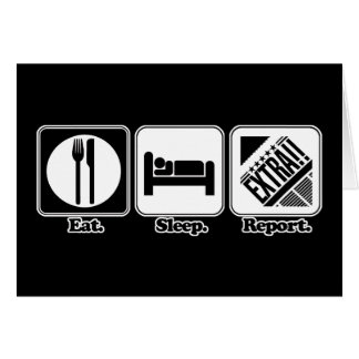 eat sleep report cards