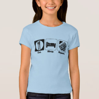 eat sleep report T-Shirt