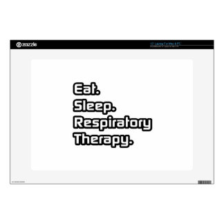 "Eat Sleep Respiratory Therapy 15"" Laptop Decal"