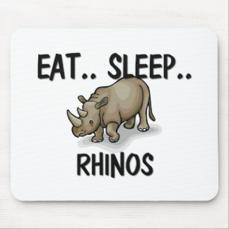 Eat Sleep RHINOS Mouse Pad