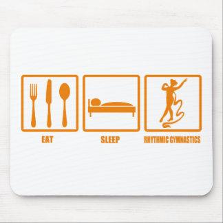 Eat Sleep Rhythmic Gymnastics Mouse Pads