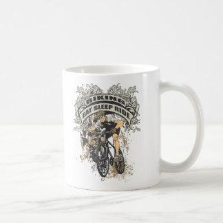 Eat, Sleep, Ride Biking Coffee Mug