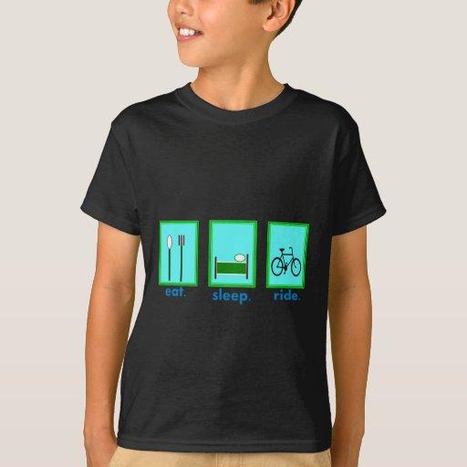 eat sleep ride  Cyclicst, biking gifts T-Shirt