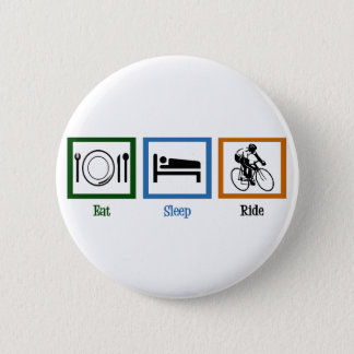 Eat Sleep Ride (Cyclists) Button