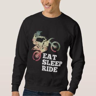 Eat Sleep Ride Dirt Bike Sweatshirt