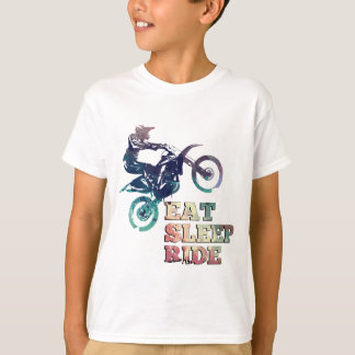 Eat Sleep Ride Dirt Bike T-Shirt