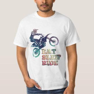 Eat Sleep Ride Dirt Bike T-Shirt