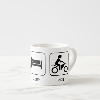 Eat Sleep Ride Espresso Cup