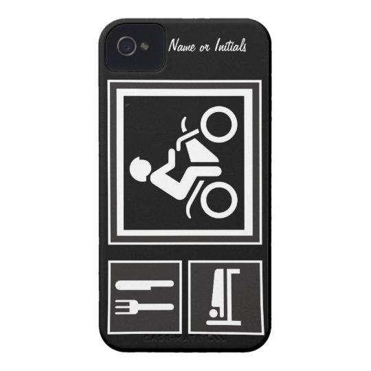 Eat Sleep RIDE Motorbike Case-Mate iPhone 4 Case