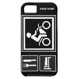 Eat Sleep RIDE Motorbike iPhone SE/5/5s Case