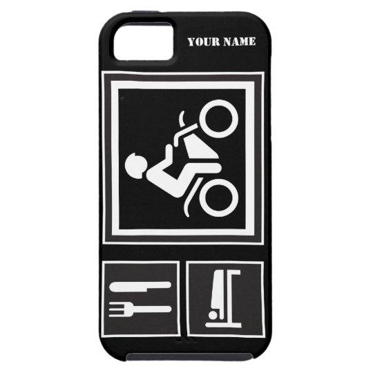 Eat Sleep RIDE Motorbike iPhone SE/5/5s Case