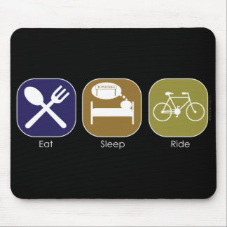 Eat Sleep Ride Mouse Pad