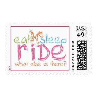 Eat Sleep Ride Postage