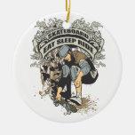 Eat, Sleep, Ride Skateboard Christmas Tree Ornament