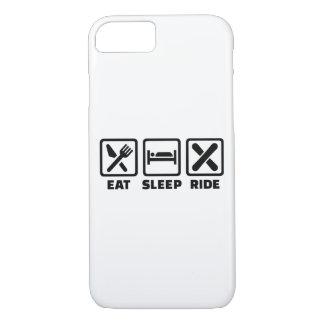 Eat Sleep ride Snowboard iPhone 8/7 Case
