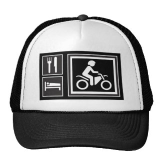 Eat. Sleep. RIDE! Trucker Hat