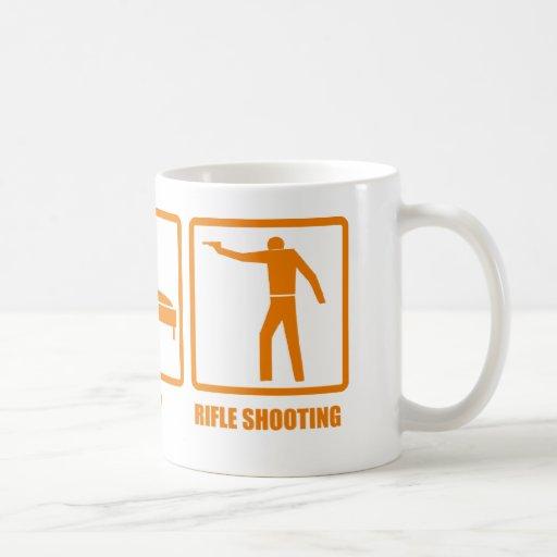Eat Sleep Rifle Shooting Coffee Mug