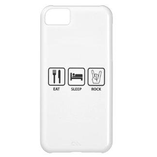 Eat Sleep Rock iPhone 5C Case