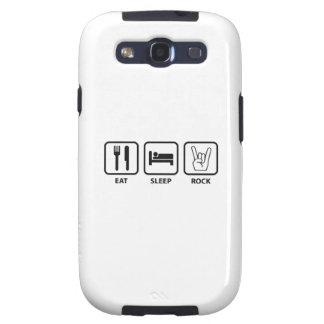 Eat Sleep Rock Galaxy S3 Cases