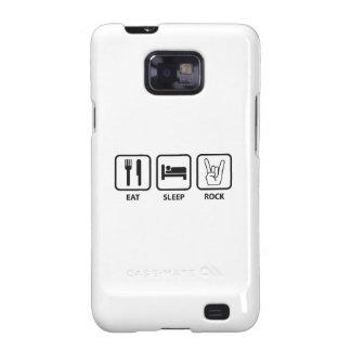 Eat Sleep Rock Samsung Galaxy SII Case