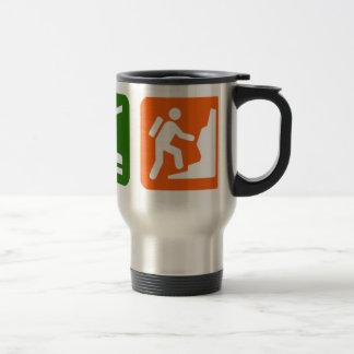 Eat Sleep Rock Climbing 2 15 Oz Stainless Steel Travel Mug