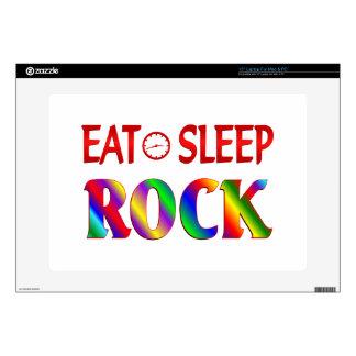 "Eat Sleep Rock 15"" Laptop Decal"