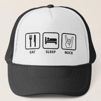Eat Sleep Rock Trucker Hat