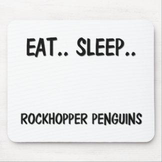 Eat Sleep ROCKHOPPER PENGUINS Mouse Pad