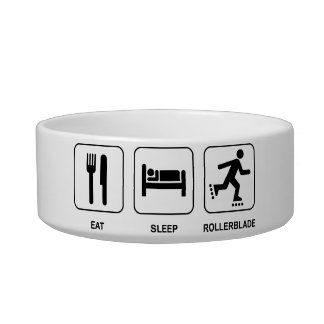 Eat Sleep Rollerblade Bowl