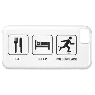Eat Sleep Rollerblade iPhone 5C Covers