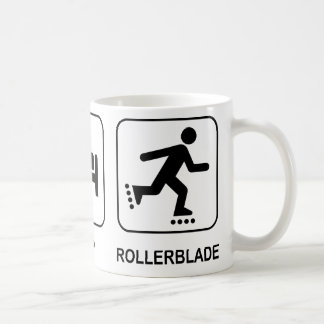 Eat Sleep Rollerblade Mug