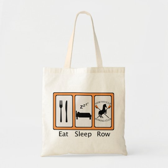Eat Sleep Row Tote Bag