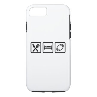 Eat sleep Rugby iPhone 8/7 Case