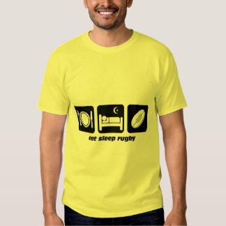 eat sleep rugby t shirt