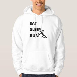 Eat Sleep Run Hoodie