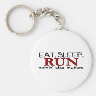 Eat Sleep Run Keychain