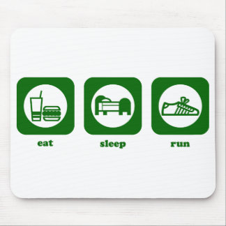 Eat. Sleep. Run. Mousepad