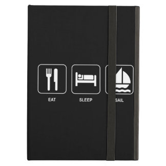 Eat Sleep Sail iPad Air Cover