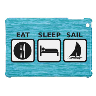 Eat Sleep Sail iPad Mini Cover