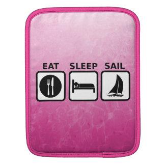 Eat Sleep Sail iPad Sleeve