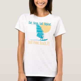 Eat, Sleep, Sail, Repeat. T-Shirt