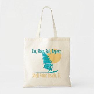 Eat, Sleep, Sail, Repeat Tote Bag