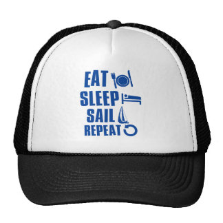 Eat sleep Sail Trucker Hat