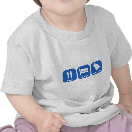 Eat Sleep Saudi Arabia Tee Shirts