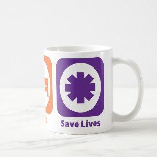 Eat Sleep Save Lives Mugs