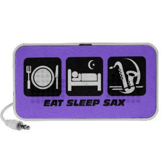 eat sleep sax speaker system