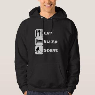 Eat Sleep Score Hockey Hoodie