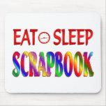 Eat Sleep Scrapbook Mouse Pad